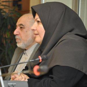 Deputy oil minister, Marzieh Shahdaie.