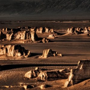 Lut Desert is Iran's only natural site on the UNESCO World Heritage List.