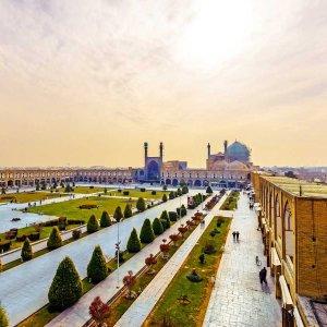 Naqsh-e-Jahan Square in Isfahan
