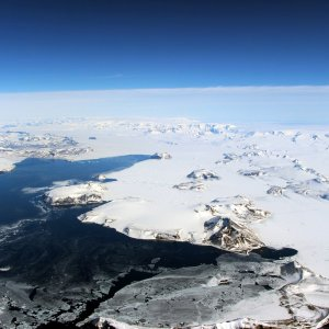 Space photo of the northernmost portion of the Antarctic Peninsula. (Photo: NASA Goddard)