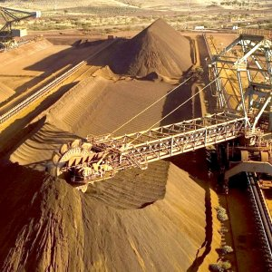 Treasurer Scott Morrison says, mineral exports are the only bright spot for the federal budget, but that's not going  to save you from substantial spending cuts.