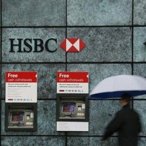HSBC Profits Tumble 86%