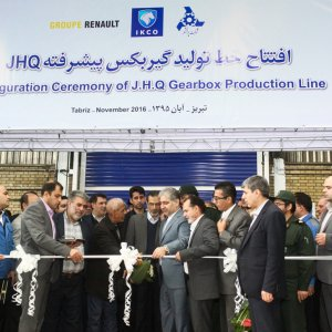 Renault Launches Gearbox Production in Tabriz