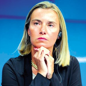 EU foreign policy chief, Federica Mogherini