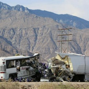 13 Killed in California Bus Crash