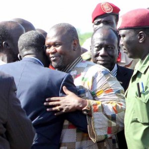 South Sudan Machar Vows to Return Home