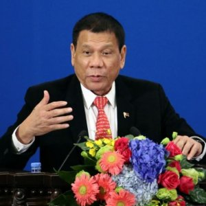 Philippines' President Announces Split With US