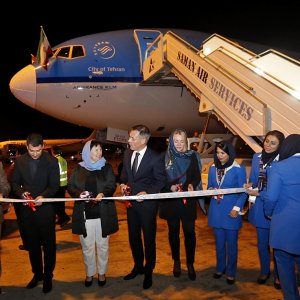KLM Lands in Tehran for 1st Time in 3 Years