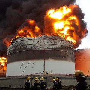 Explosion at BASF German Plant
