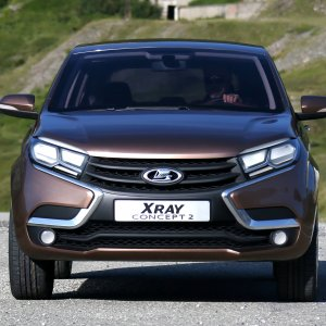 Russians on Same Wavelength With Lada's XRAY