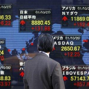 World Stocks,  Commodities Climb