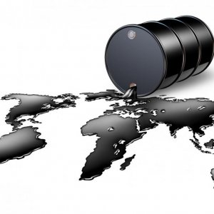Fall in Oil Export Prices  Adjusted to Int'l Trends