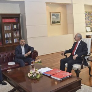 Envoy Meets Turkey's CHP Chief