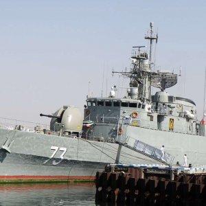 Iranian Navy Flotilla Rescues Fishing Vessel