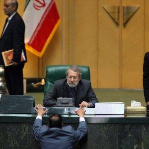 Larijani  Reelected  Majlis Speaker
