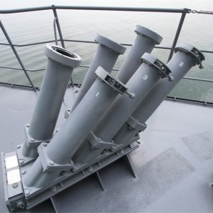 Navy Vessels Fitted With Chaff System