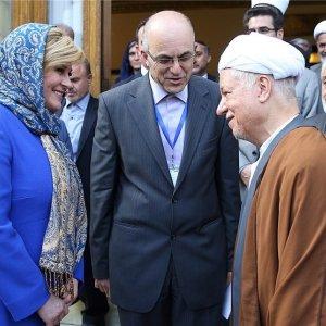 Rafsanjani: Europe Ties Benefit Iran's Economy