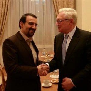 Iranian Envoy, Russian Deputy FM Confer