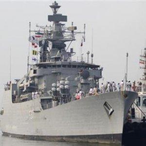 Indian Flotilla Docks at Iranian Port