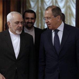 Zarif, Lavrov Discuss Syria Crisis