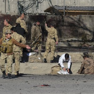 10 Killed in Afghan Suicide Bombing