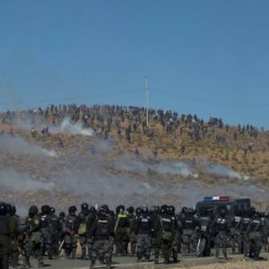 Bolivian Official Beaten to Death by Protesters