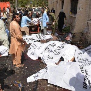 Suicide Bombing Kills Dozens at Pakistan Hospital
