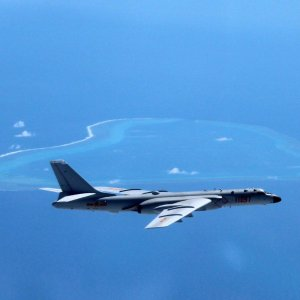 China Conducts Combat Patrols  Near Contested Islands