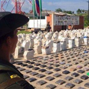 Colombia Seizes Record Cocaine Haul