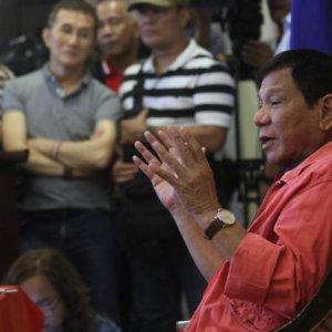 Duterte Declared Philippine President