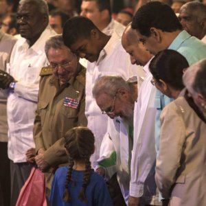 Fidel Castro Appears at 90th Birthday Event