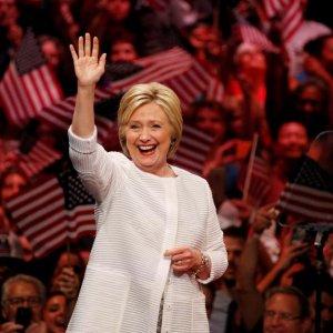 Hillary Clinton Declares Victory in Democratic Race