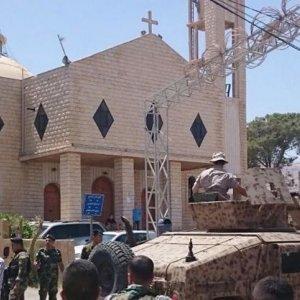 Terrorists Target Mourning Service in Lebanese Village