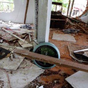 Myanmar Mob Burns Down Mosque