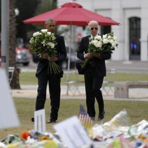 Obama Comforts Florida Massacre Survivors