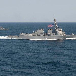 American Warship Sails Near Disputed Reef