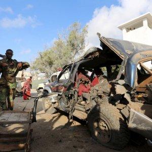 Somalia Car Bomb Kills 2 Police Officers