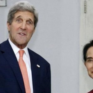 "Suu Kyi Wants ""Space"" as Kerry Calls for Rohingya Rights"