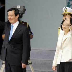 Taiwan's 1st Female President Sworn In