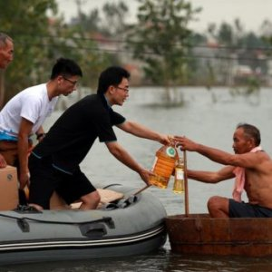 China Floods Kill 150,  Scores Missing