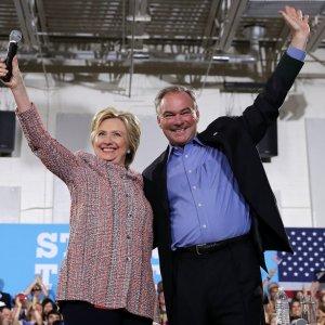 Clinton Picks Tim Kaine as Running Mate