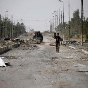 Trench Cuts Off Iraq's Fallujah