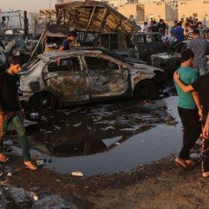 Suicide Attack Kills Dozens Near Baghdad