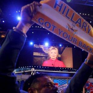 Clinton Formally Declared Democratic Party Nominee