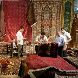 The 25th Persian Handmade Carpet Grand Exhibition opened on August 22 in Tehran and ends on Sunday.