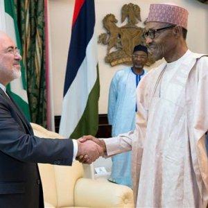 Nigerian President Tells Iran's FM: Iran Economic Recovery a Model