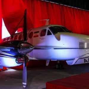 New Flight Inspection Plane Unveiled