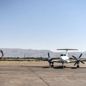 New Flight Inspection Plane Takes Off