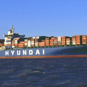 S. Korean Containership Anchors at Shahid Rajaee Port