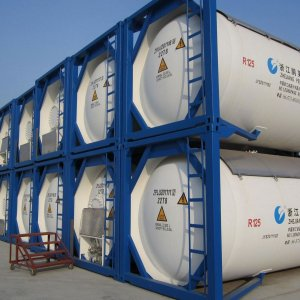 1st ISO Tank Gas Cargo for African Countries